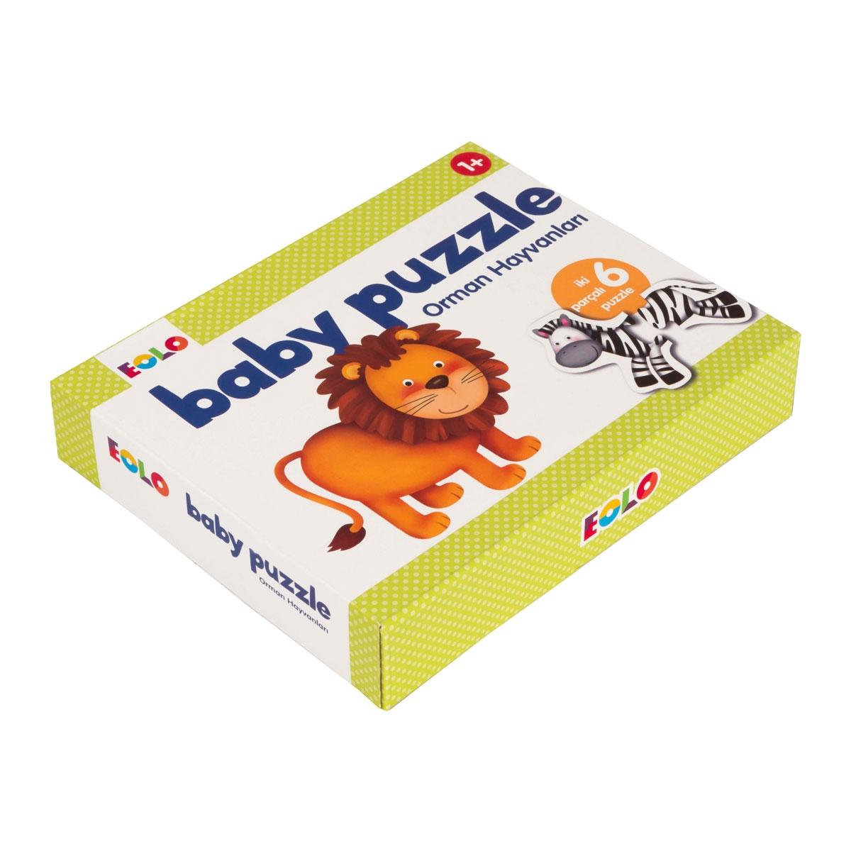 Baby Puzzle - Orman Hayvanları