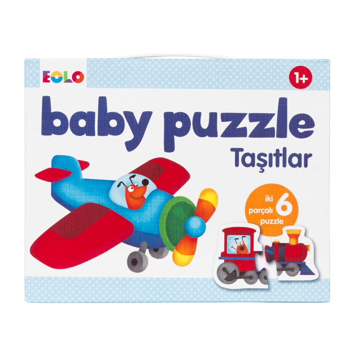 Baby Puzzle - Taşıtlar