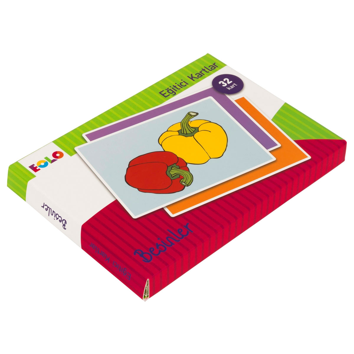Educational Cards - Foods