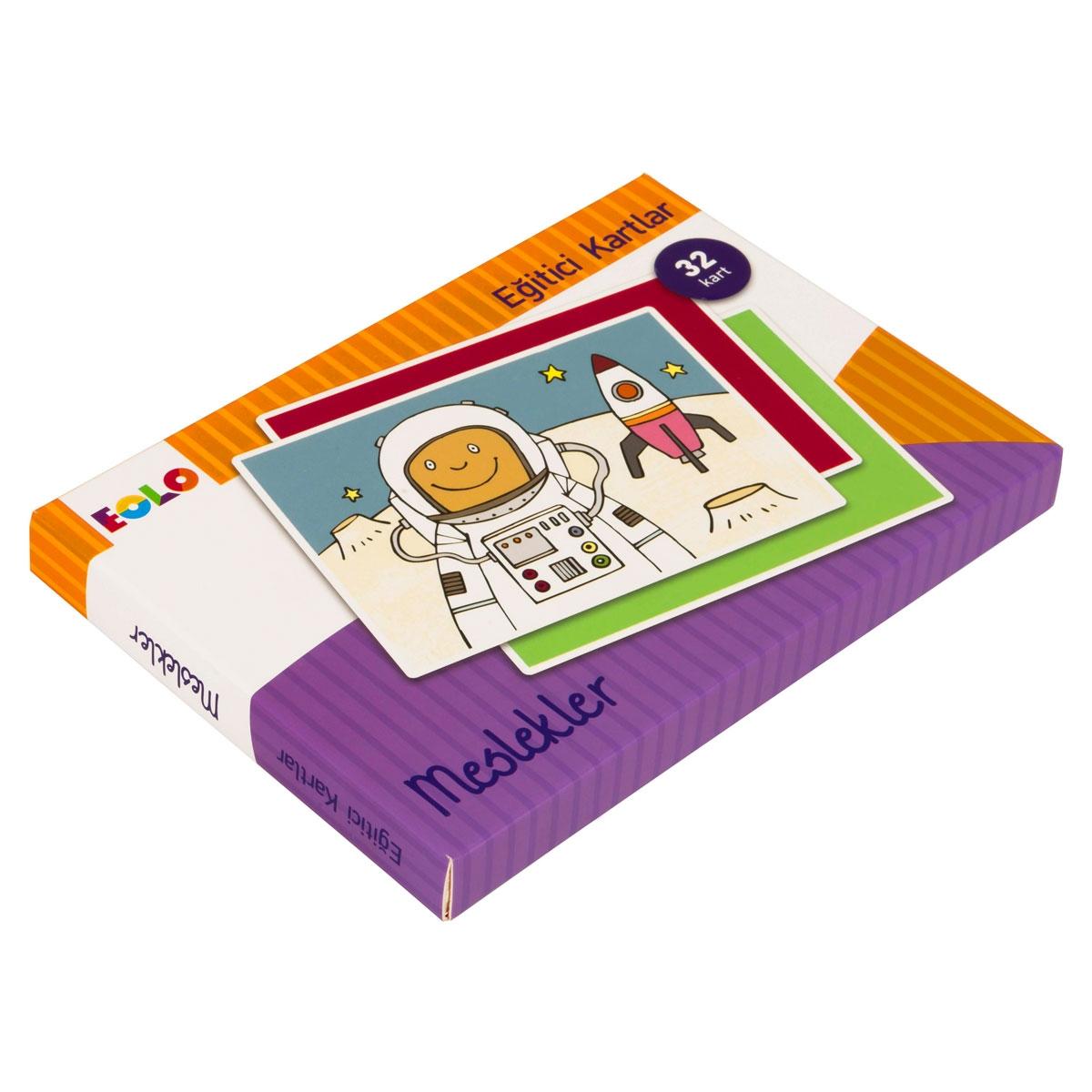 Eğitici Kartlar - Meslekler