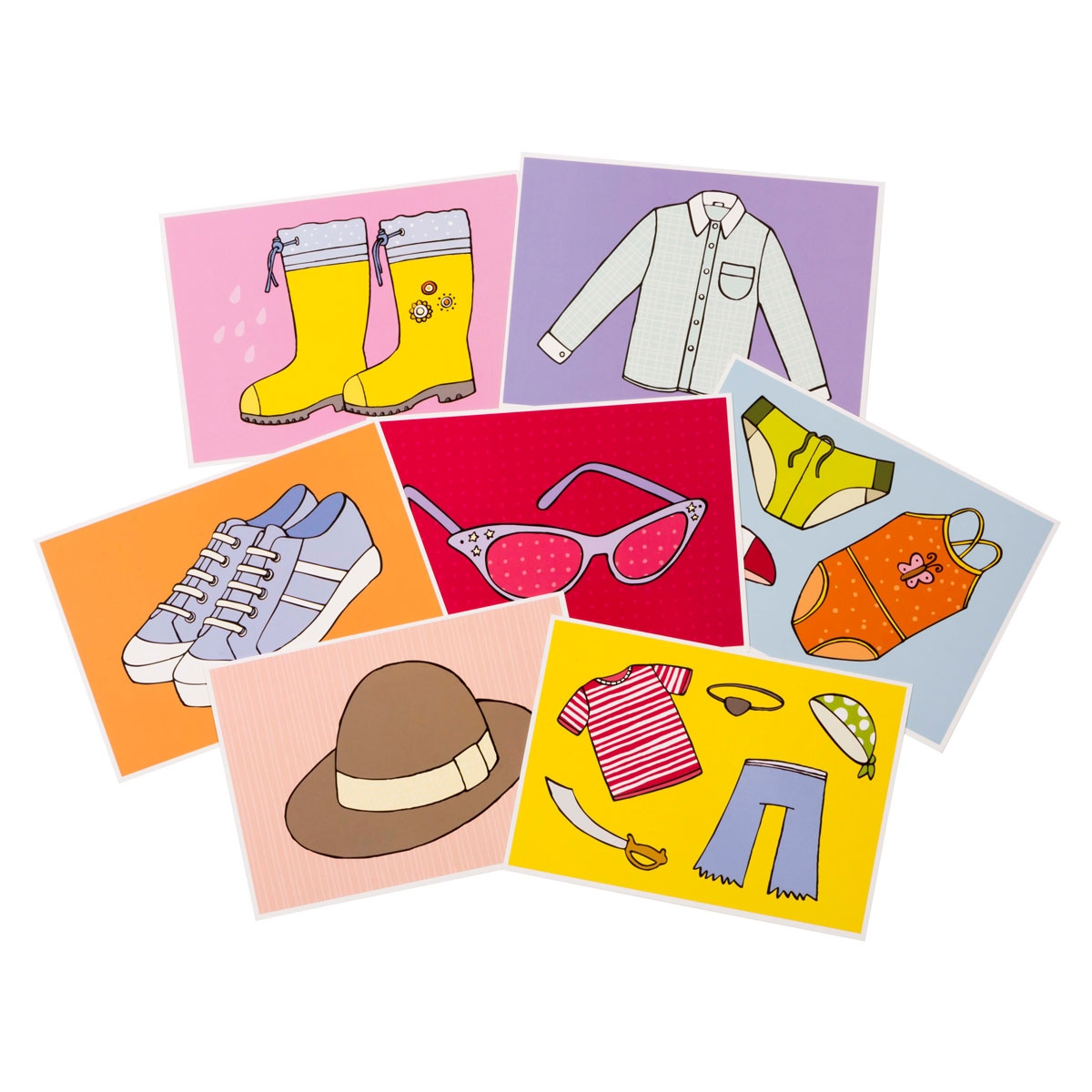 Educational Cards - Clothes