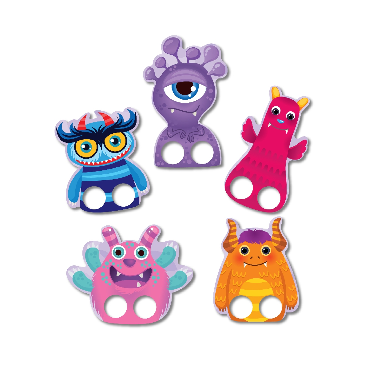 Finger Puppet – Cheerful Monsters