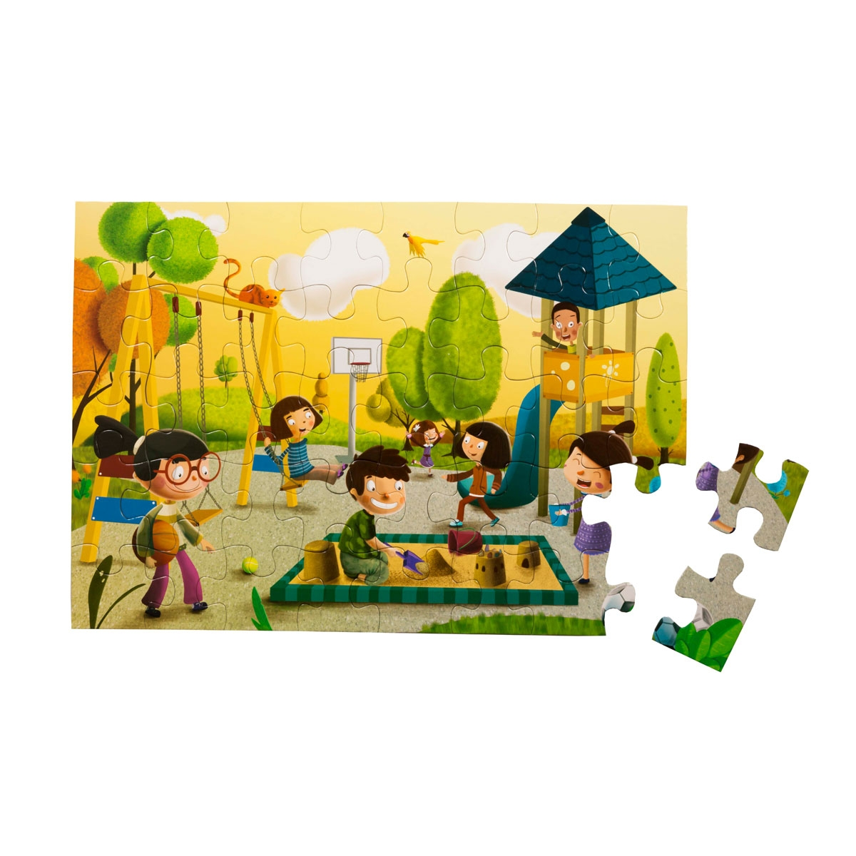 Floor Puzzle - In the Park