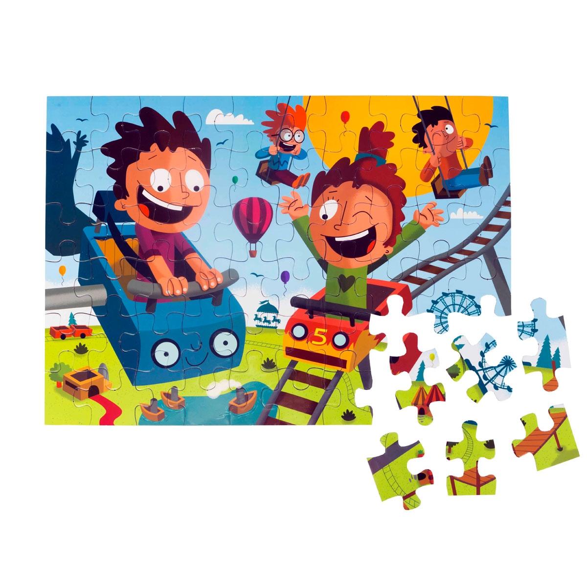 Floor Puzzle – Amusement Park