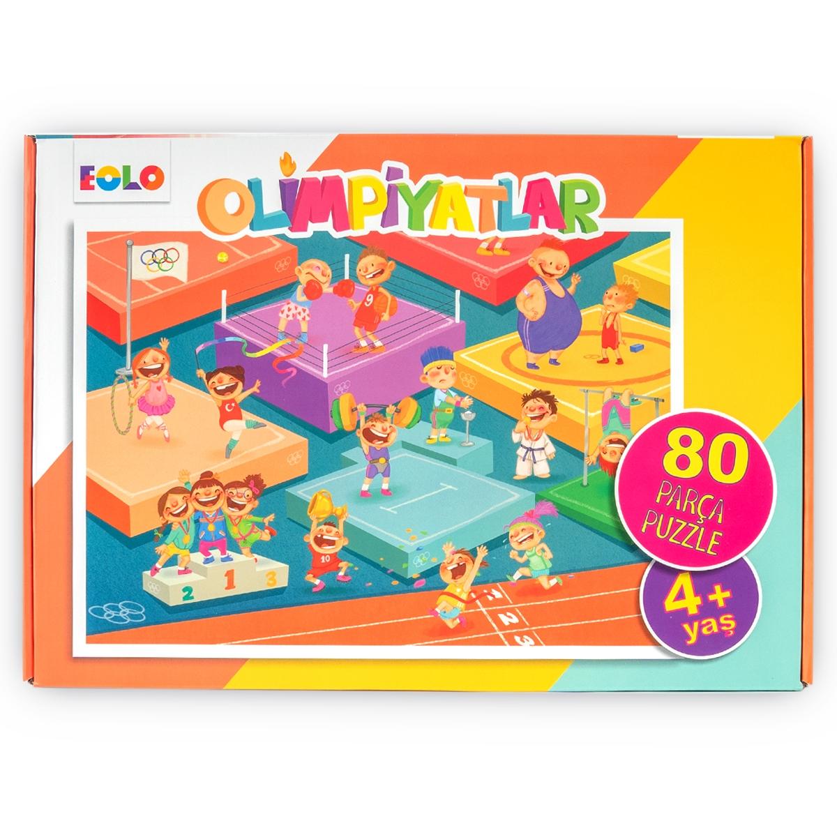 80 Parça Yer Puzzle – Olimpiyatlar